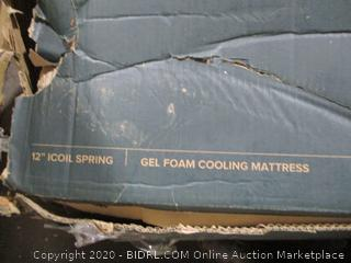 King Gel Foam Memory Cooling Mattress