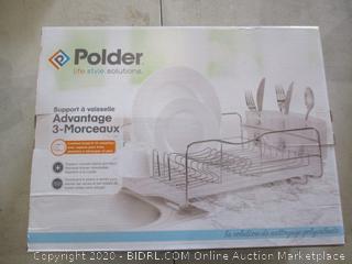 Polder 3 Piece Dish Rack