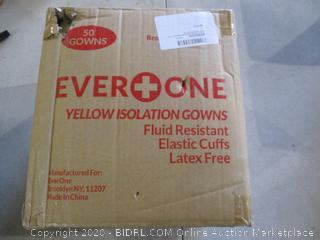 Yellow Isolation Gowns