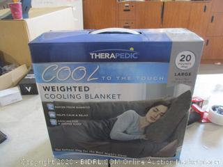 Weighted Cooling Blanket
