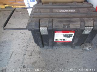 Husky 37 in Mobile Job Box damaged
