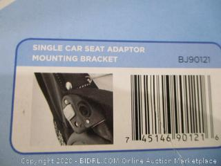 Single Car Seat Adapter mounting bracket