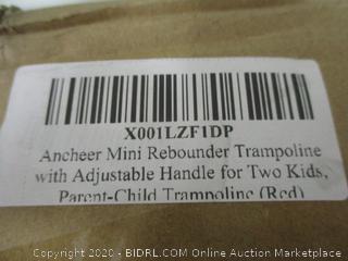 Ancheer Mini Rebounder Trampoline with adjustable handle