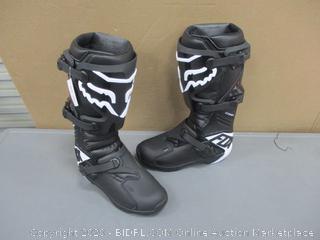 Fox Racing Comp Men's Off Road Motorcycle Boots Black/9