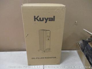 Kuyal Oil filled radiator   heater