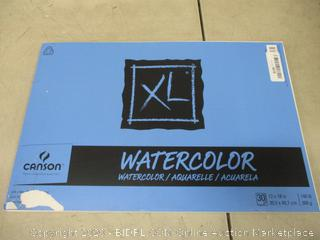 watercolor tablet