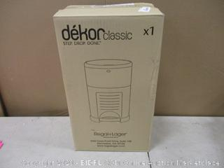 dekor Classic Diaper Pail