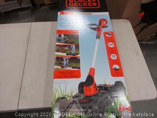 Black + Decker  12 in Compact Mower Cordless
