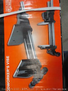 Quick Release Woodworker's Vise Factory Sealed