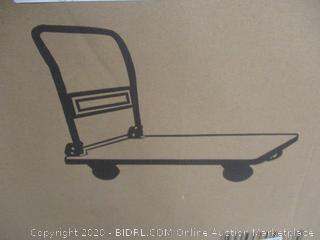 Platform Cart Dolly folding Foldable Moving warehouse Push Hand Truck
