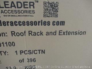 Roof Rack and Extension