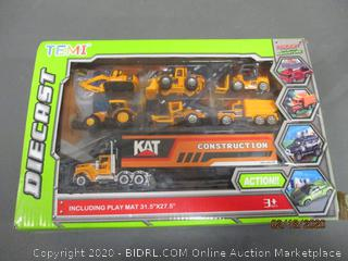 Diecast Including play mat