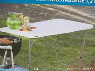 4-Foot Adjustable Table factory sealed
