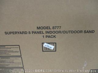 Superyard 8 Panel Indoor/Outdoor