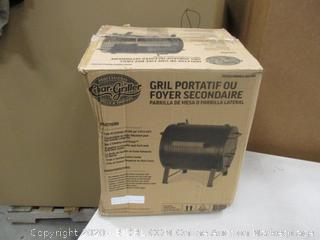 Char Griller Tabletop or Side Fire Box Grill