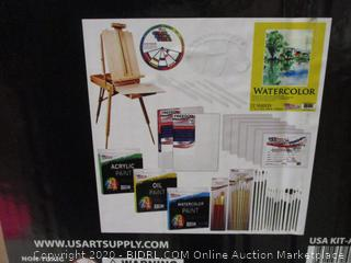 Custom Artist Painting Kit See Pictures  / box condition may vary