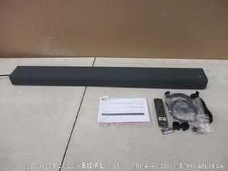 TCL  2.1 Channel sound Bar with built in Subwoofer Powers on   no box