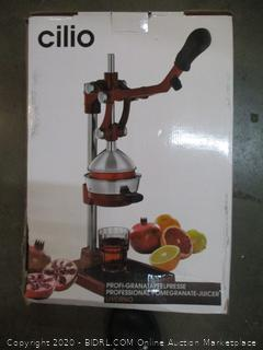 Cilio Professional Pomegranate Juicer