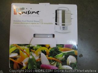 Cuisine Stainless Steel Electric Steamer