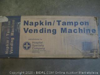 Napkin/tampon Vending Machine