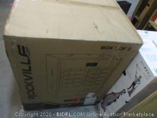 "Rockville  18"" Pro Audio Folded Horn Active Power Subwoofer"