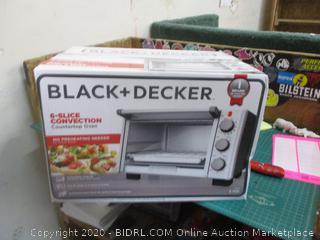 Black + Decker 6-slice Convection Countertop Oven