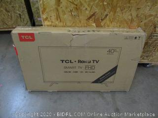 "TCL Roku TV Smart TV 40"" Powers On"