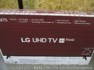 """LG UHD TV AI ThinQ 95"""" Powers on See Pictures"""