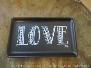 Love decorative Trinnket Jewelry Tray