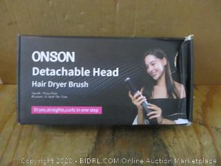 Onson Detachable Head Hair dryer Brush