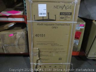 New Age 4ftx8ft Adjustable Overhead Rack