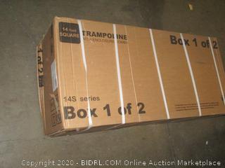 Trampoline Box 1 of 2 incomplete set