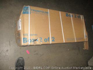 Trampoline box 2 of 2 incomplete set
