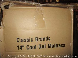"14"" Cool Gel Mattress  queen"