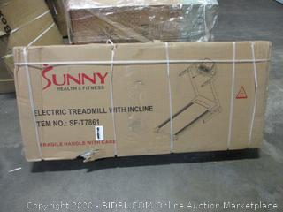 Sunny Electric Treadmill with Incline