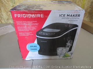 Frigidaire Portable Compact Maker, 26 lb per Day, Ice Making Machine (Retail $112)