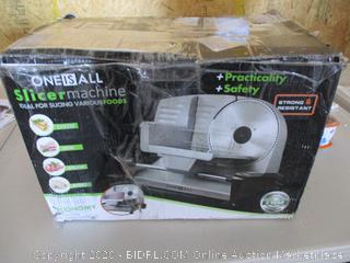 ONE IS ALL Food Slicer machine
