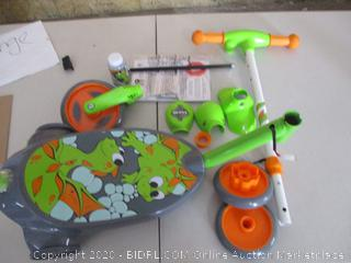 Huffy 2 in 1 Bubble Scooter (Dragons) Toy