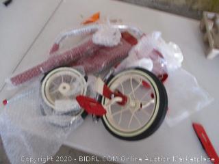 Radio Flyer Deluxe EZ Fold 4-in-1 Stroll 'N Trike