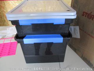 Storex Storage containers