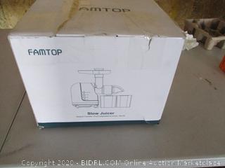FAMTOP Slow Masticating Juicer Extractor