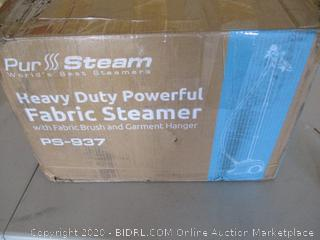 PurSteam Full Size Steamer for Clothes, Garments, Fabric - Professional Heavy Duty