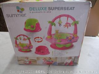 Summer Deluxe SuperSeat, Booster and Activity Seat for Girls