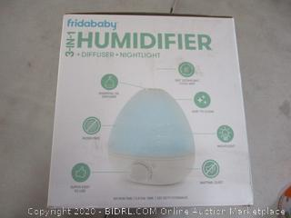 FridaBaby 3-in-1 Humidifier with Diffuser and Nightlight