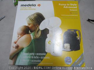 Medela Pump in Style Advanced Breast Pump with Backpack, Double Electric Breastpump, Portable Battery Pack, Adjustable Speed and Vacuum, Power Supply Adapter 110v - 220v (RETAIL $219)