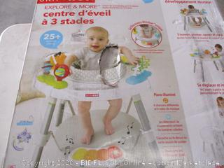 Skip Hop Explore and More Baby's View Interactive Activity Center (Retail Price $129.99)