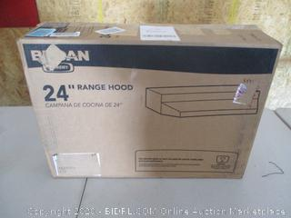Broan Convertible Range Hood Insert with Light, Exhaust Fan for Under Cabinet (over the stove)
