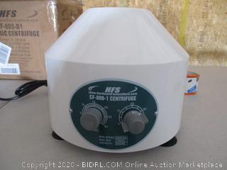 HFS Electric Centrifuge - Electric Low speed Laboratory Ideal instrument for labs to make qualitative analysis to serum, plasma, radio-immunity