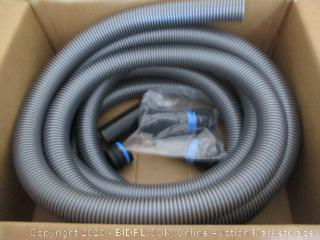 Cen-Tec Systems 20 Ft. Hose for Home and Shop Vacuums with Multi-Brand Power Tool Adapter for Dust Collection