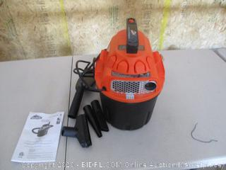 Armor All, AA255 , 2.5 Gallon 2 Peak HP Wet/Dry Utility Shop Vacuum